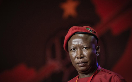 FILE: EFF leader Julius Malema at the party's three-day elective conference on 14 December 2019. Picture: Sethembiso Zulu/EWN