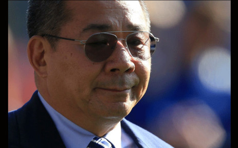In this file photo taken on May 05, 2018 Leicester City's Thai chairman Vichai Srivaddhanaprabha applauds the fans following the English Premier League football match between Leicester City and West Ham United at King Power Stadium in Leicester, central England on May 5, 2018. Picture: AFP.