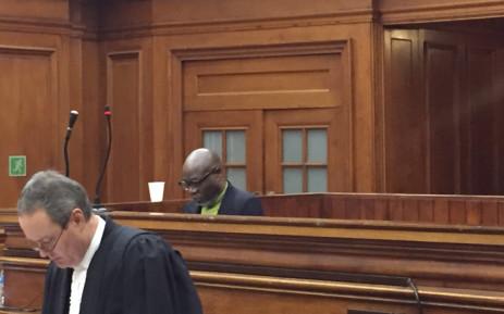 Zwelethu Mthethwa in court. Picture: Xolani Koyana/EWN