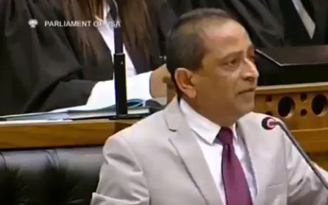 National Freedom Party Member of Parliament Shaik Emam. Picture: Screengrab