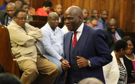 The SABC Chief Operations Officer Hlaudi Motsoeneng's at the Supreme Court of Appeal in Bloemfontein for his appeal against a High Court order that he be suspended pending a disciplinary hearing. Picture: Christa Eybers/EWN