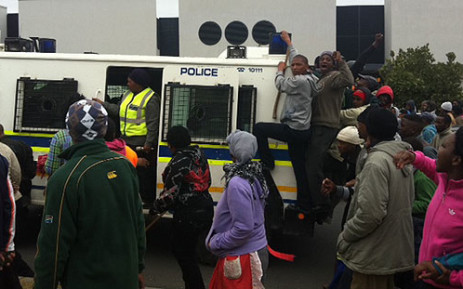The Eastern Cape has had the most service delivery protests this year. Picture: Lauren Isaacs/EWN