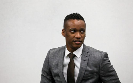 Duduzane Zuma also used the question session with his attorney Piet Louw to plead his innocence, saying he never stole from the people of South Africa. Picture: Kayleen Morgan/EWN.