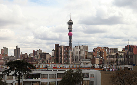 City of Johannesburg skyline. Picture: Taurai Maduna/EWN