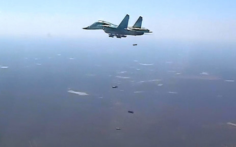 Russian Su-34 bombers, flying from Iran's Hamadan air base, struck Islamic State targets in Syria's Deir al-Zor province on 17 August 2016. Picture: Ministry of Defence of the Russian Federation.