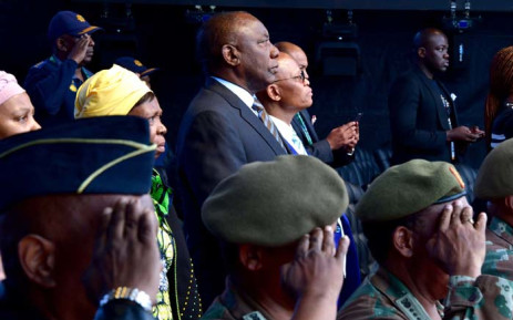 President-elect Cyril Ramaphosa assessing the state of readiness for the Presidential Inauguration 2019 to be held at the Loftus Versfeld stadium in Pretoria on 25 May. Picture: GCIS.