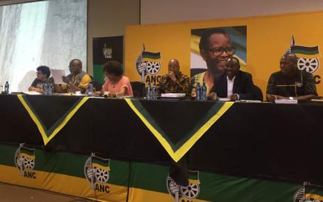 FILE: The ANC's leadership at a meeting. Picture: Masa Kekana/EWN