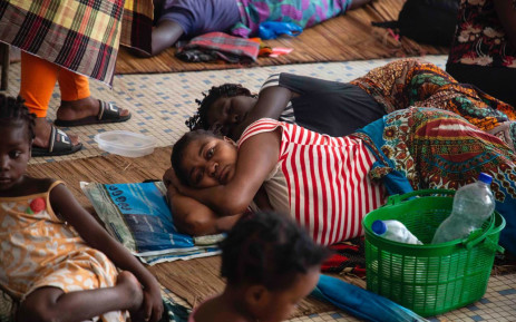 FILE: A shelter set up for victims of Cyclone Idai in Beira in a building that used to be a school. Picture: Christa Eybers/EWN.