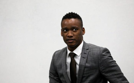 Duduzane Zuma at the Zondo commission of inquiry into state capture on 8 October 2019. Picture: Kayleen Morgan/EWN