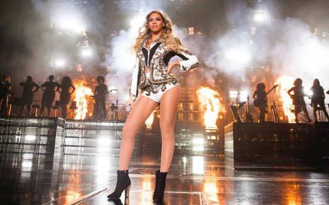 Beyoncé led artists with six Grammy nominations each. Picture: Beyoncé Facebook.