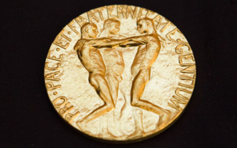 FILE: The Nobel Peace Prize. Picture AFP
