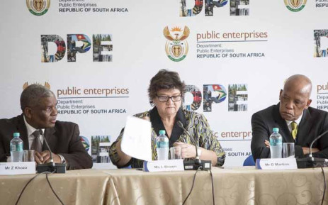 FILE: Public Enterprises Minister Lynne Brown. Picture: Thomas Holder/EWN