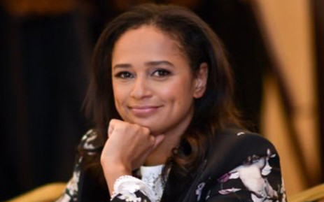 Isabel dos Santos. Picture: @isabelaangola/Twitter.