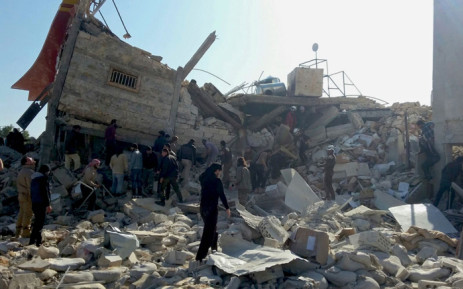 A handout image dated 15 February 2016, provided by the Mdecins Sans Frontires (MSF) or Doctors Without Borders organisation, showing destruction and rubble at an MSF-supported hospital in Idlib province in northern Syria, largely destroyed in an attack on early 15 February 2016. EPA/SAM TAYLOR / MSF.