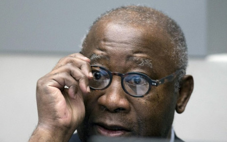 FILE: This file photo taken on January 28, 2016 shows former Ivory Coast President Laurent Gbagbo looking on before the start of his trial at the International Criminal Court in The Hague.
