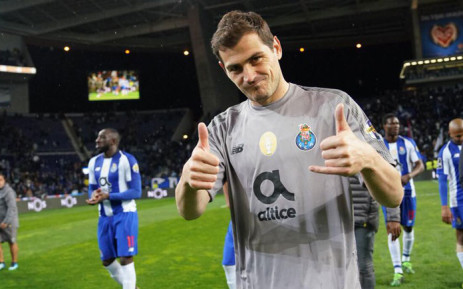 Porto goalkeeper Iker Casillas. Picture: @IkerCasillas/Twitter