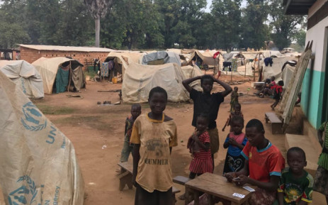 FILE: Thousands of people seek refuge at the local Médecins Sans Frontières hospital grounds in Batangafo, Central African Republic. Picture: Kevin Brandt/EWN