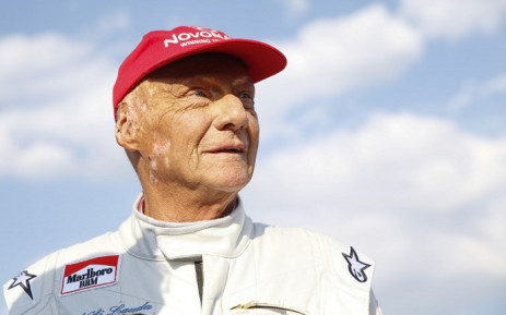 "FILE: Formula One legend Austrian Niki Lauda attends the ""legends race"" at the racetrack in Spielberg on 30 June 2018, ahead of the Austrian Formula One Grand Prix. Picture: AFP"