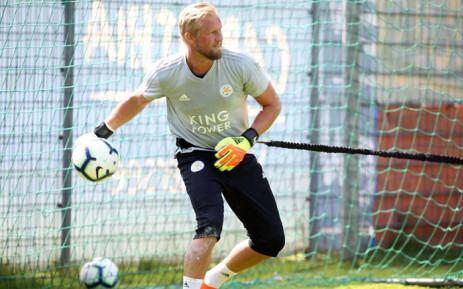 Leicester City goalkeeper Kasper Schmeichel. Picture: @kschmeichel1/Twitter