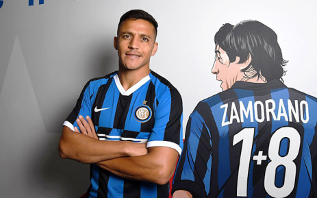 Alexis Sanchez moved from Manchester United to Inter Milan on loan on 2 September 2019. Picture: @Alexis_Sanchez/Twitter