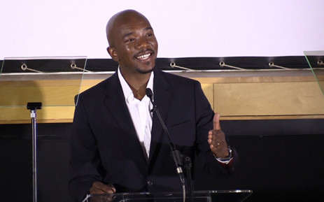 DA leader Mmusi Maimane delivered a race speech on Tuesday at the Apartheid Museum. Picture: Vumani Mkhize/EWN.