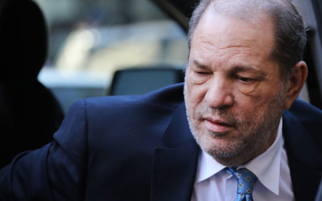 Harvey Weinstein returns to hospital for complications related to his back surgery