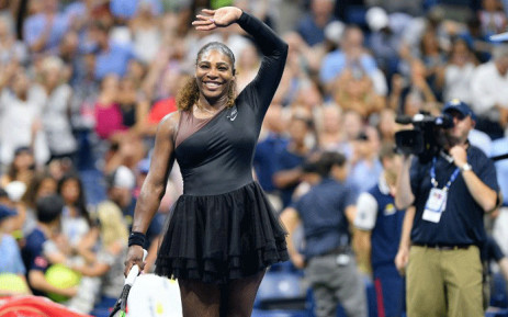 d24aa705030 Serena Williams at the US Open on 28 August 2018. Picture   usopen