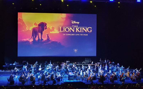 The Johannesburg Philharmonic Orchestra is performing 'The Lion King Live in Concert' at the Sun Arena at Time Square Casino in Tshwane, which comes as a first for Africa. Picture: @Ireshyn_G/Twitter