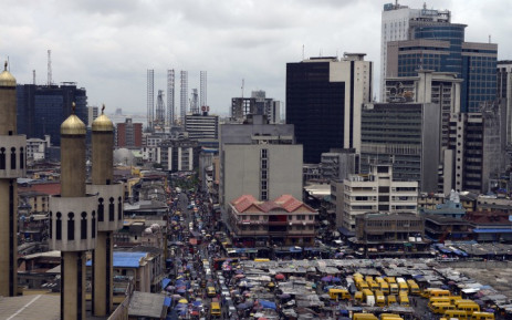 Nigeria's commercial capital of Lagos. Picture: AFP.