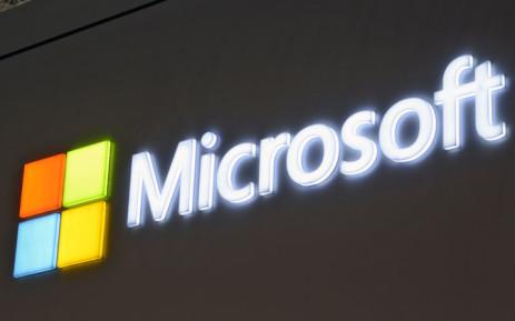 The Microsoft logo. Picture: EPA.