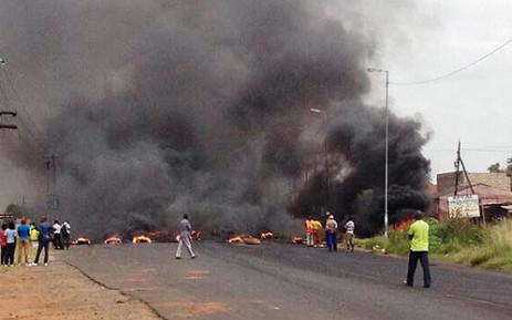 FILE: Gauteng has been hit by a number of service delivery protests since the start of 2014. Picture: Barry Bateman/EWN.