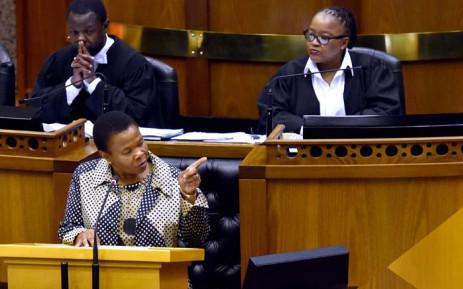 Social Development Minister Susan Shabangu. Picture: GCIS
