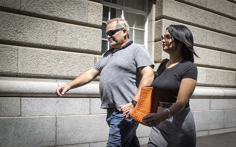 Zephany Nurse's mother Celeste makes her way to the Western Cape High Court. Picture: Thomas Holder/EWN