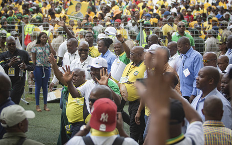 President Cyril Ramaphosa arriving at Moses Mabhida Stadium for the ANC 107 Celebrations in Durban on 12 January 2019. Picture: Sethembiso Zulu/EWN