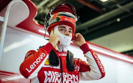 Ferrari's Charles Leclerc. Picture: @ScuderiaFerrari/Twitter.