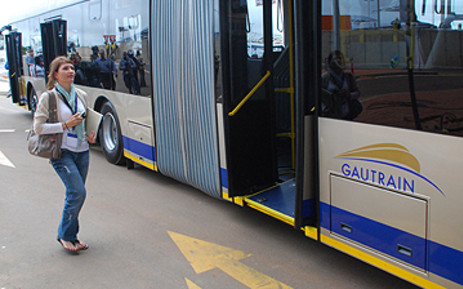 FILE: A Gautrain bus at the Centurion station. Picture: EWN
