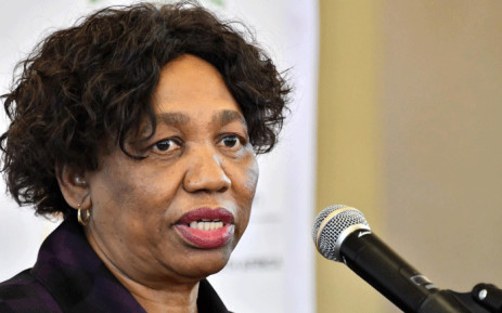 FILE: Basic Education Minister Angie Motshekga at a briefing on 1 June 2020. Picture GCIS.