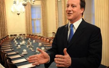 FILE: Former British PM David Cameron. Picture: AFP