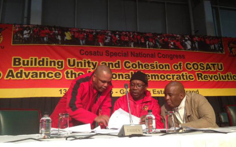 FILE: Cosatu's National Office Bearers. Picture: EWN.