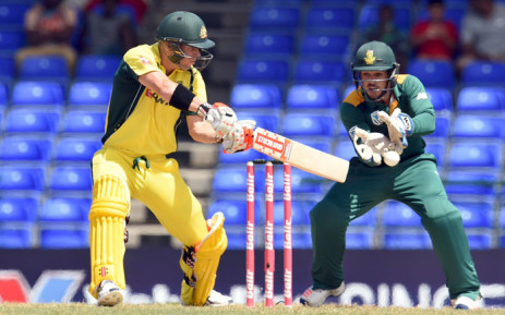 FILE: Proteas vs Australia at Warner Park in St Kitts on Saturday. Picture: @OfficialCSA