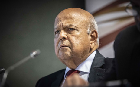 FILE: Public Enterprises Minister Pravin Gordhan at a press briefing at the Lethabo power station on 3 April 2019. Picture: Abigail Javier/EWN