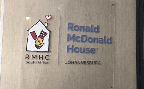 The Ronald McDonald House at the Nelson Mandela's Children's Hospital. Picture: Thando Kubheka/EWN