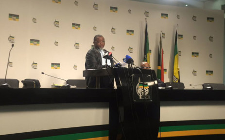 ANC Secretary General Gwede Mantashe. Picture: Masa Kekana/EWN.