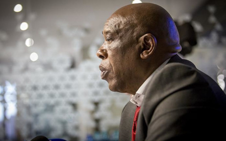 Non-executive Chairman of Trillian Capital Partners, Tokyo Sexwale addressed the media at the company's offices in Johannesburg on 25 May 2017. Picture: Reinart Toerien/Eyewitness News