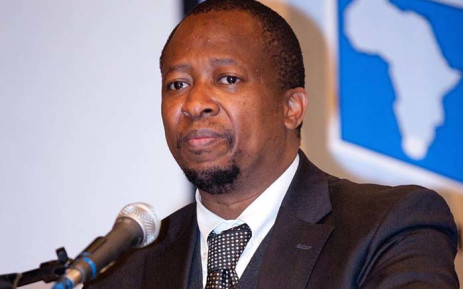 The chief electoral officer of the IEC, Sy Mamabolo. Picture: @IECSouthAfrica/Facebook.com.