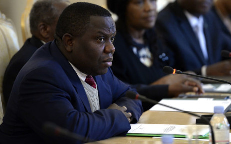 Former Zambian Minister of Foreign Affairs Harry Kalaba (foreground). Picture: AFP