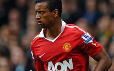 Manchester United's Portuguese midfielder Nani. Picture: AFP.