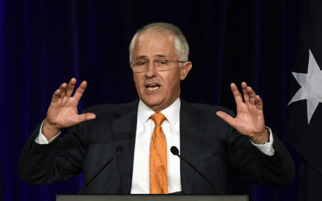 Australia's Prime Minister Malcolm Turnbull. Picture: AFP.