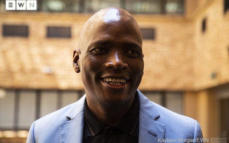 African Content Movement leader Hlaudi Motsoeneng. Picture: Kayleen Morgan/EWN