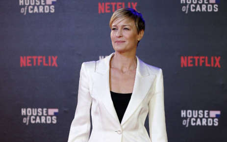 Robin Wright at the world premiere of season three of 'House of Cards' in February 2015. Picture: AFP.